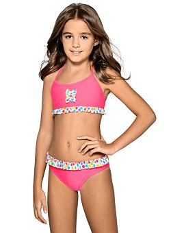 0067d1270c Nelinka lányka bikini, rózsaszín